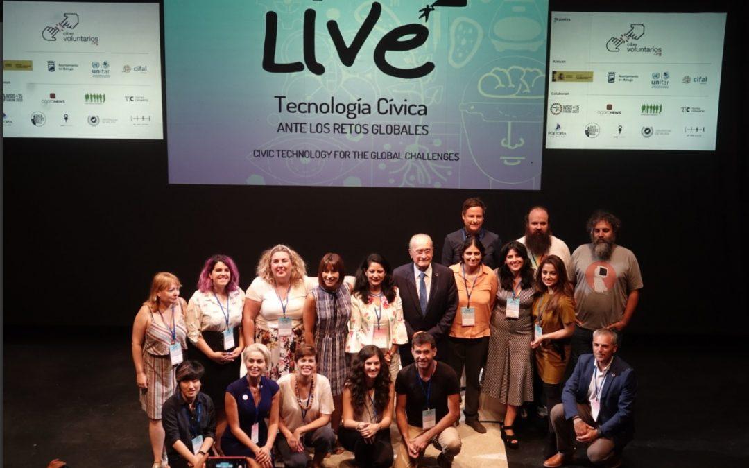 Expertos mundiales en tecnología cívica se reúnen en Málaga para debatir sobre los retos globales