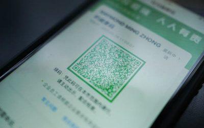 Los códigos QR facilitan el control sobre el coronavirus en China